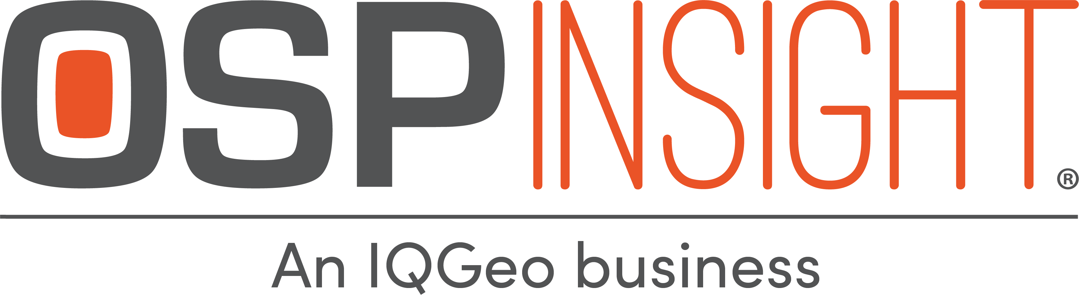 OSPInsight - An IQGeo Business (Transparent)