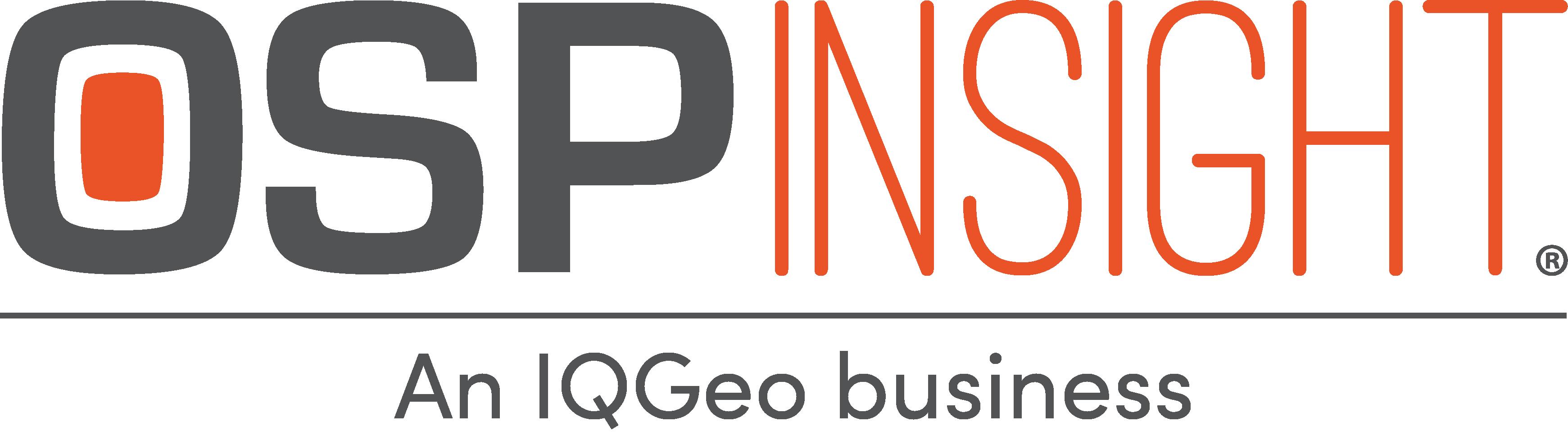 OSPInsight - An IQGeo Business (Transparent)