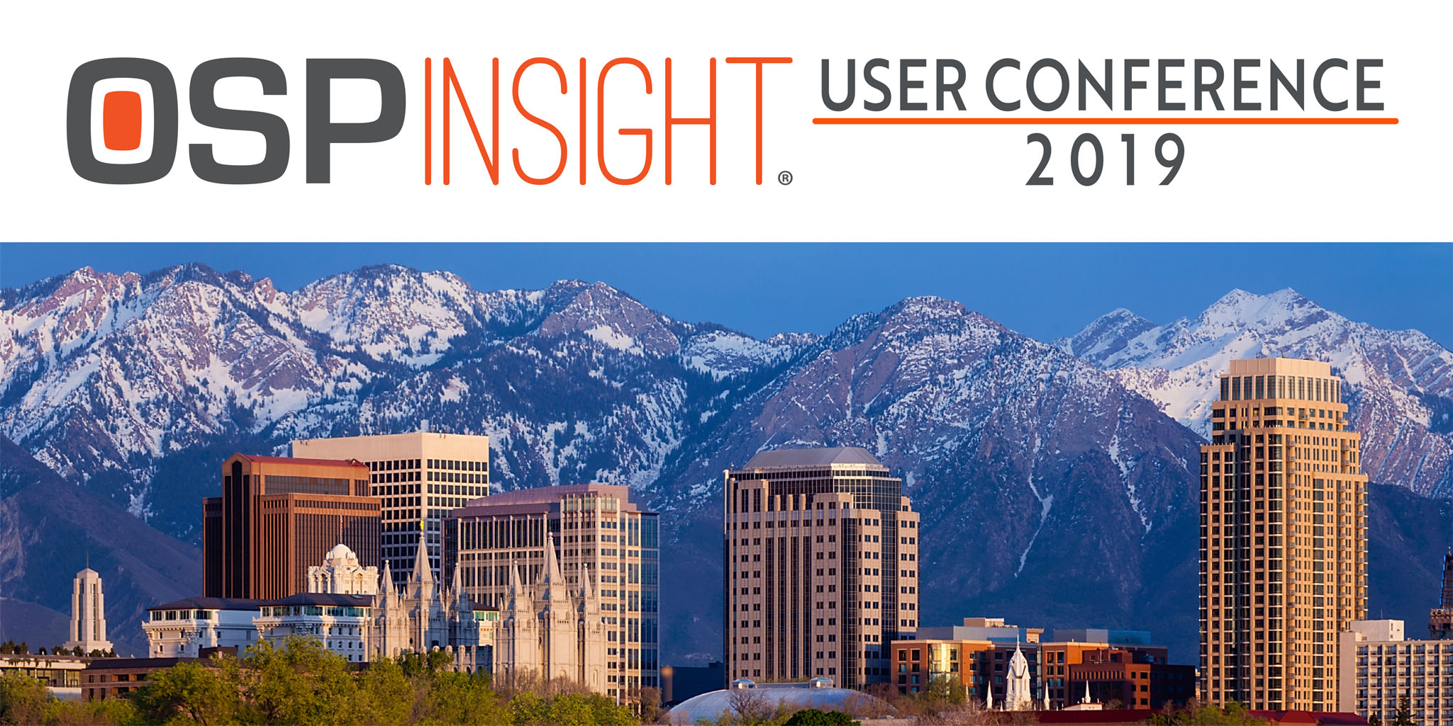 OSPInsight User Conference 2019